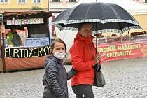 Ze Svatováclavských trhů v Kutné Hoře.