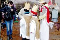 Zakončení Tříkrálové sbírky 10.1.2013