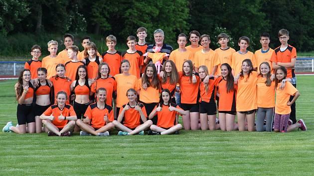 Mladší žactvo SKP Olympia Kutná Hora se ve Vlašimi umístilo na medailových pozicích.