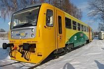 Vlak Regionova. Ilustrační foto