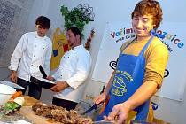 Vaření v Mozaice s Lukášem Rudolfským