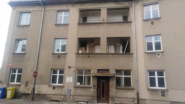 Bytový dům ve Školní ulici v Kutné Hoře.
