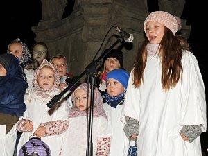 Svatomartinský průvod v Čáslavi