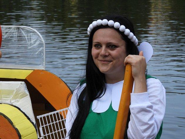 Tradiční čáslavská Neckyáda se konala na Podměstském rybníku.