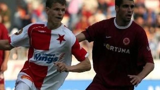 Petr Janda (vlevo).