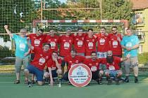 Házenkáři Sparty Kutná Hora slaví postup do 2. ligy.