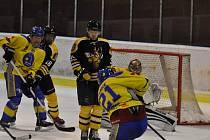 Krajská hokejová liga: HC Lev Benešov - SK Sršni Kutná Hora 3:0.