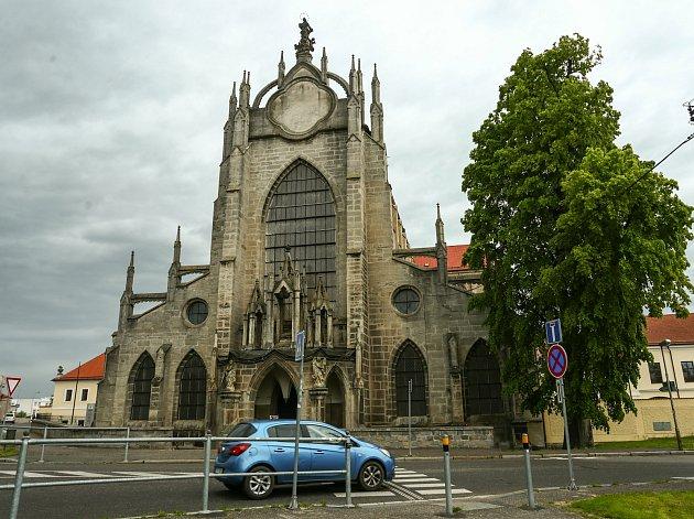 Kostel Nanebevzetí Panny Marie a svatého Jana Křtitele vSedlci.
