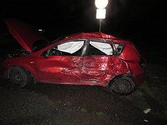 Při dopravní nehodě naštěstí nebyl nikdo vážně zraněn.
