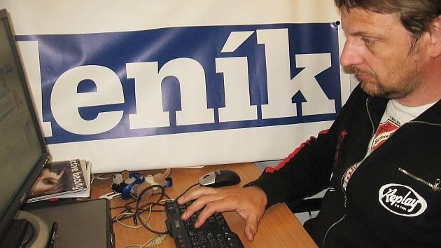Ivan Sova, manažer kutnohorského cyklistického týmu Michelin Specialized MTB.