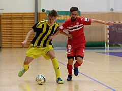 16. kolo CHANCE futsal ligy: FC Benago Zruč n. S. - Nejzbach Vysoké Mýto 5:5 (4:2), 27. ledna 2017.