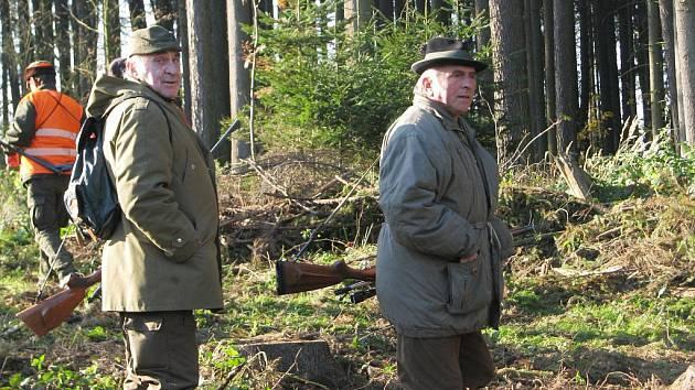 Hon, Soběšín 23. října 2010.