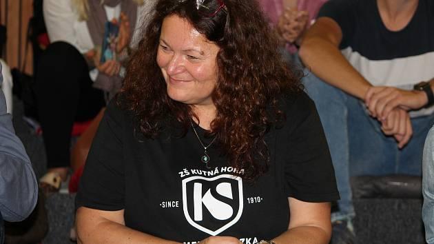 Andrea Melechová Ruthová, zástupkyně ředitele Základní školy Kamenná stezka v Kurné Hoře pověřená řízením školy.