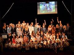 V Čáslavi vyhlásili nejlepší sportovce