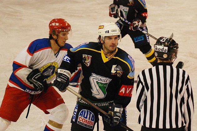 Hokej II. liga: K. Hora - Kobra Praha 1:4, středa 4. listopadu 2009