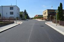 Ulice Lipová dostala nový povrch za 3 miliony.