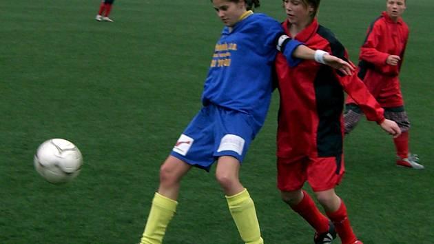 Z utkání II. ligy žen Varnsdorf - Uhl. Janovice (2:1)