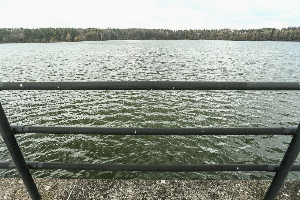 Vodní nádrž Vrchlice.
