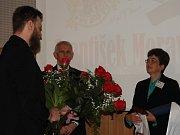 Filip Velímský, starosta Čáslavi Vlastislav Málek, Anita Moravec Gard na kolokviu v Čáslavi.