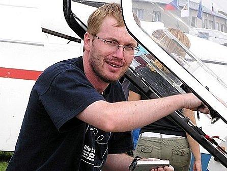 Zbraslavický bezmotorový pilot Bronislav Smatana.