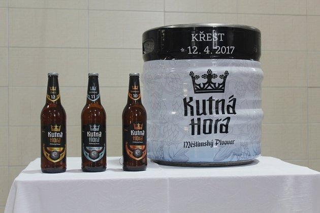 VMěšťanském pivovaru Kutná Hora pokřtili nově uvařené pivo