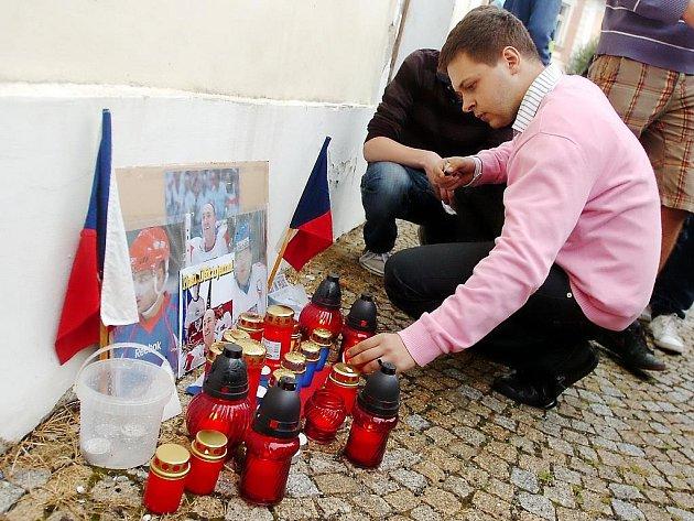 Vzpomínka na tragicky zesnulé české hokejisty. 8. 9. 2011