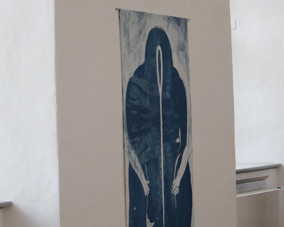 Z výstavních prostor v Galerii Středočeského kraje v Kutné Hoře.
