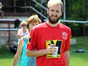 Z dvacátého ročníku Pukma Cupu, turnaje v malé kopané v Červených Janovicích.