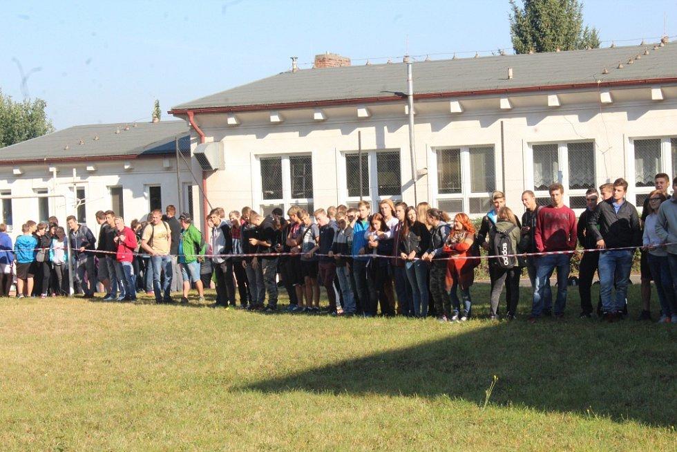 Trénink ISZ na Dopravním učilišti Čáslav