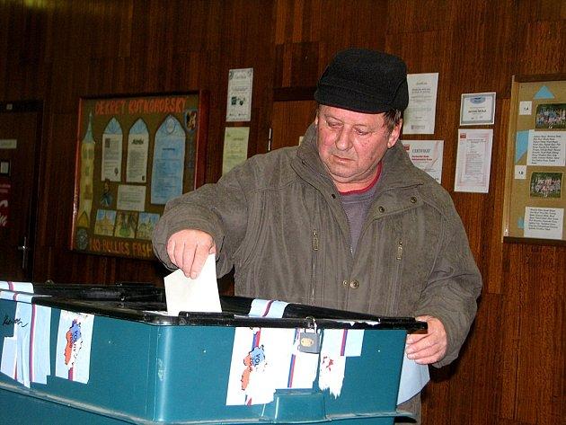 Prezidentské volby 11. a 12. ledna 2013 v Kutné Hoře