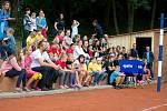 Ze slavnostního otevření antukového hřiště ve sportovním areálu Klimeška v Kutné Hoře.