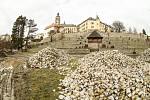 Rekonstrukce parku pod Vlašským dvorem v Kutné Hoře.