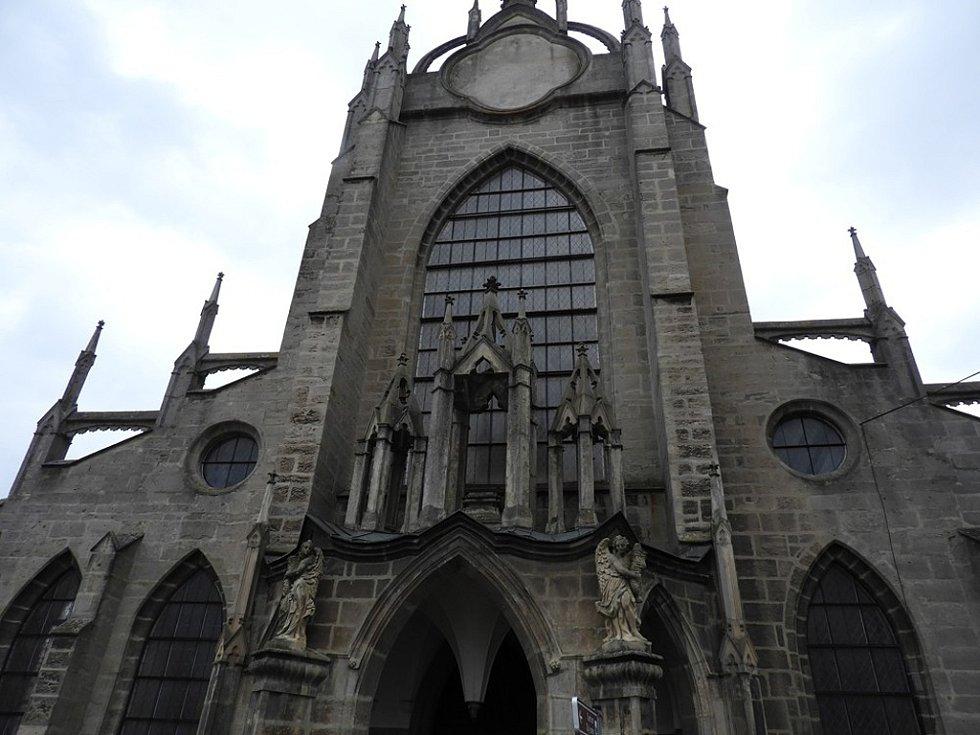 Katedrála Nanebevzetí Panny Marie v kutnohorském Sedlci.