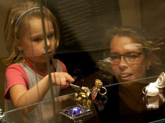 V Dačického domě je k vidění kopie Svatováclavské koruny.