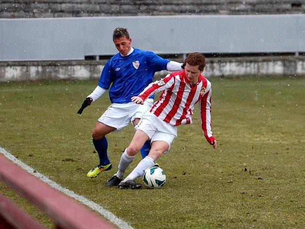 21. kolo Divize C: Kutná Hora - Jirny 0:3, 31. března 2013.