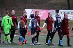 Fotbalový přípravný zápas, mladší žáci, kategorie U13: FK Čáslav - AC Sparta Praha dívky 3:1 (0:0).
