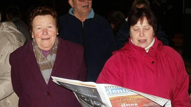 Česko zpívá koledy v Holšicích. 12.12. 2012