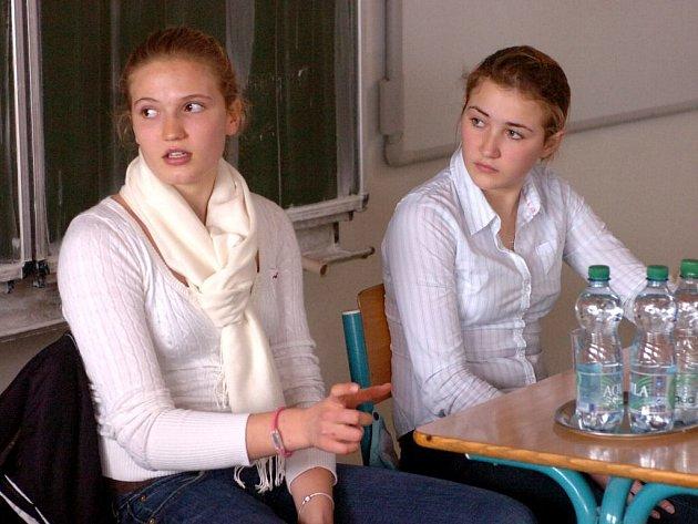 Britské středoškolačky na kutnohorském Ortenově gymnáziu