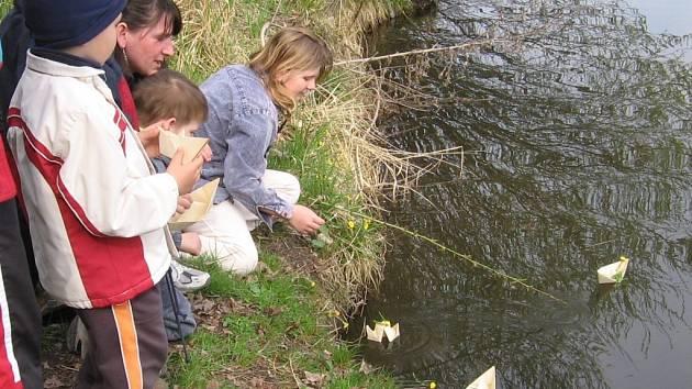 Z víkendové procházky k Velkému rybníku.