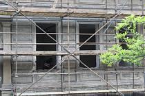 Z rekonstrukce budovy bývalé Základní školy J. A. Komenského v ulici Na Náměti v Kutné Hoře.