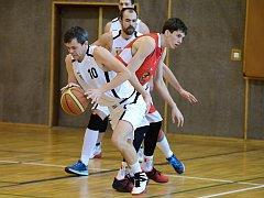 II. basketbalová liga: Kutná Hora - Jindřichův Hradec B, 8. ledna 2017.