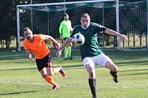 Fotbalová I. B třída, skupina C: Bílé Podolí - Škvorec 2:1.