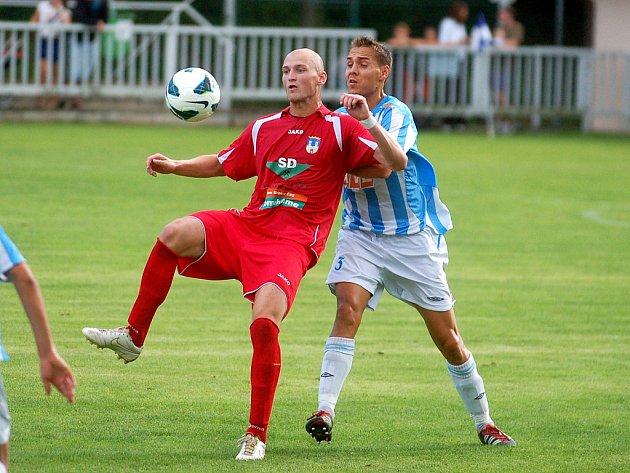 Příprava: Čáslav - Chomutov 0:1, 18. července 2012.