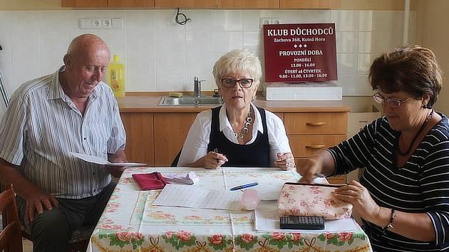 Klub důchodců v Koukolově vile