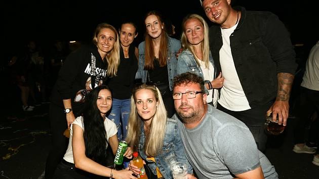 Z koncertu UDG v Paběnicích v sobotu 17. července 2021.
