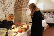 V Preghausu Vlašského dvora se nyní prodávají velikonoční dekorace.