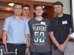 Zástupci kutnohorské střední průmyslové školy na dvanáctém ročníku konference StreTech 2018.