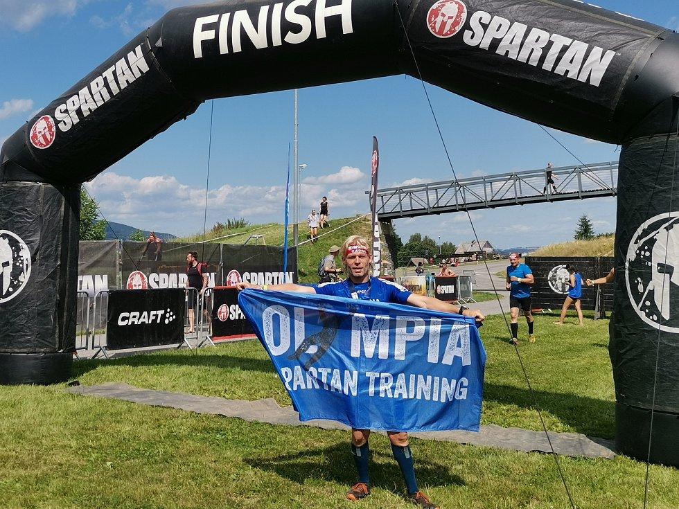 Olympia Spartan Training Kutná Hora v Liberci. Na snímku Vladimír Chwastek.