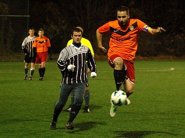 Dohrávka 10. kola okresního přeboru: Kutná Hora B - Uhlířské Janovice B, 8. listopadu 2012.