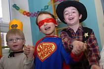 Karneval se v pátek uskutečnil v Mateřské škole Sedlec v Kutné Hoře.